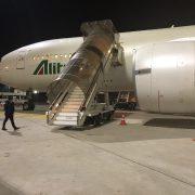Alitalia Roma Buenos Aires vuelo AZ680